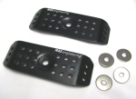 MAS Engineering Cylinder Head Cover Guards, Black