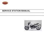OEM Moto Guzzi Svc Station Manual Stelvio NTX-ABS