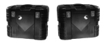 Hepco & Becker Gobi, BLACK 37 Side Cases - PAIR