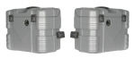 Hepco & Becker Gobi, SILVER 37 Side Cases - PAIR