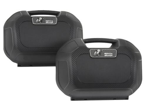 Hepco & Becker Orbit Hard Side Cases, PAIR
