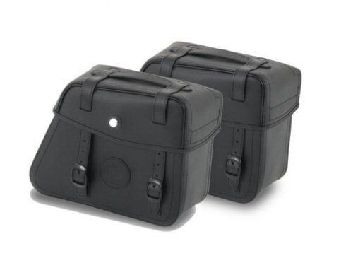 Hepco & Becker Rugged Side Cases, Black - PAIR