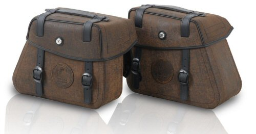 Hepco & Becker Rugged Side Cases, Brown - PAIR