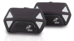 Hepco & Becker Royster Side Cases, Black - PAIR