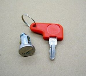 Hepco & Becker Key Lock & Tumbler