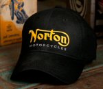Norton Hat / Baseball Cap, Black