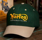 Norton Hat / Baseball Cap, Green
