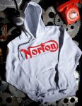 Pullover Hoodie Sweater, Norton, Ash Grey