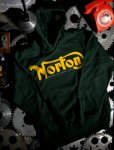 Pullover Hoodie Sweater, Norton, Green