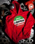 Pullover Hoodie Sweater, Laverda, Red