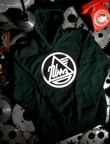Pullover Hoodie Sweater, IMZ-Ural, Green
