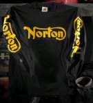 Norton Long Sleeve T-Shirt, Black