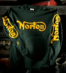 Norton Long Sleeve T-Shirt, Green