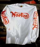 Norton Long Sleeve T-Shirt, White