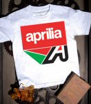 Aprilia Kid's T-Shirt Misano A, Grey
