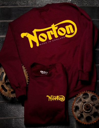 Sweater Norton, Maroon