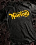 Norton T-Shirt, Black