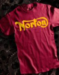 Norton T-Shirt, Maroon