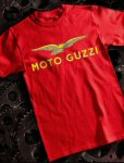 Moto Guzzi T-Shirt, Red