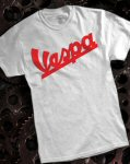 Vespa T-Shirt, Ash Grey
