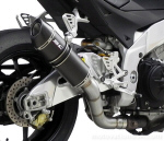 SC Project Oval Slip-On For Tuono V4 & RSV4