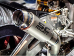 SC Project GP70-R Titanium Slip-On Exhaust for V4