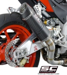 SC Project Carbon Oval Slip-On For Tuono V4 & RSV4