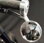 Norton Bar End Mirrors, Polished  Sold as a PAIR