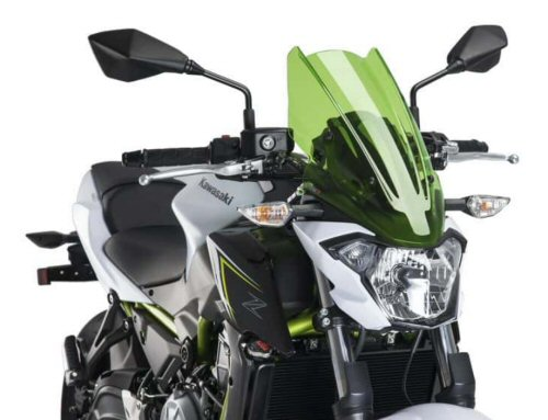 Puig Naked New Gen Windscreen, Green