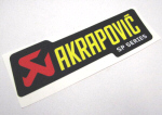 Akrapovic Decal 7x2.15