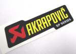 Akrapovic Decal 7x1.75