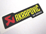 Akrapovic Decal 3.5x1