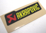 Akrapovic Decal 3.25x0.85