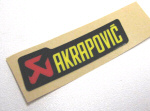 Akrapovic Decal 2.5x0.75