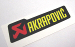 Akrapovic Decal 4.5x1.15