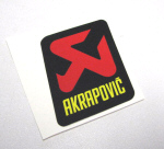 Akrapovic Decal 3x2.25