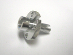 Pro Bolt Clutch Cable Adjuster, Silver for V4's