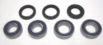 All Balls Rear Wheel Bearing Set For Aprilia