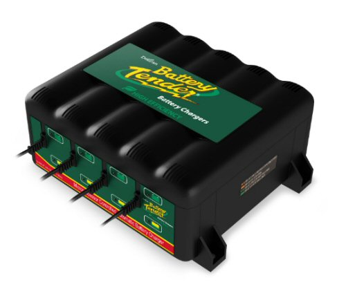 Battery Tender Plus 12V/ 1.25 Amps- 4 Bike Charger