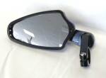 PSR Bar End Mirror, Black