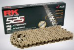 RK Max O 525 O-Ring Chain, Gold