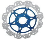 EBC Vee-Rotor Brake Rotor in Blue