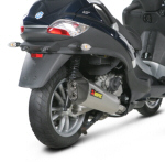 Akrapovic Slip-On Exh For Piaggio 400's & 500's