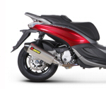 Akrapovic Slip-On Exh For Piaggio BV350