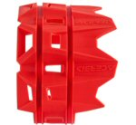 Acerbis Silencer/Muffler Protection, Red 200-400mm
