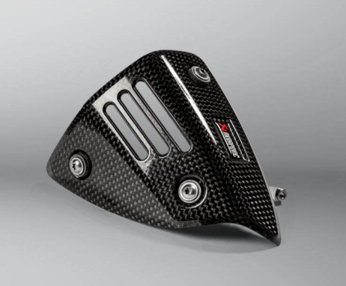 Akrapovic Heat Shield for Akra Slip-On Vespa GTS
