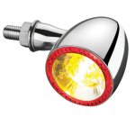 Kellerman Bullet Turn Signal, Chrome (sold each)
