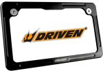 Driven Racing Billet Aluminum License Plate Frame