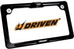 Driven Racing Alu. License Plate Frame w/LED Light