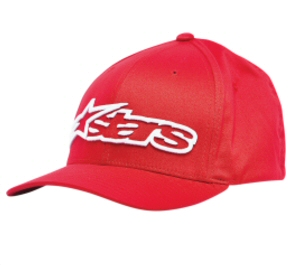Alpinestars Logo Hat, Red  Small-Medium
